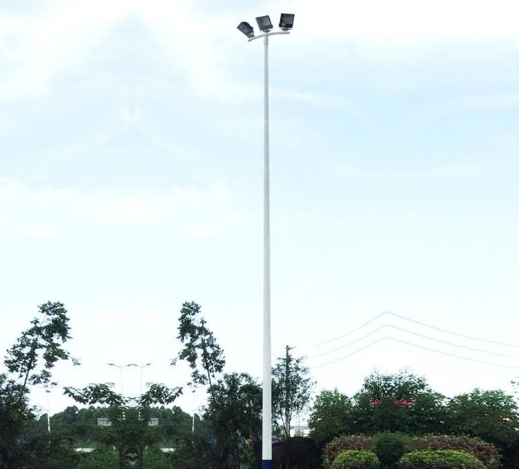 璧山装高杆照明灯 夜游公园更安逸过滤机